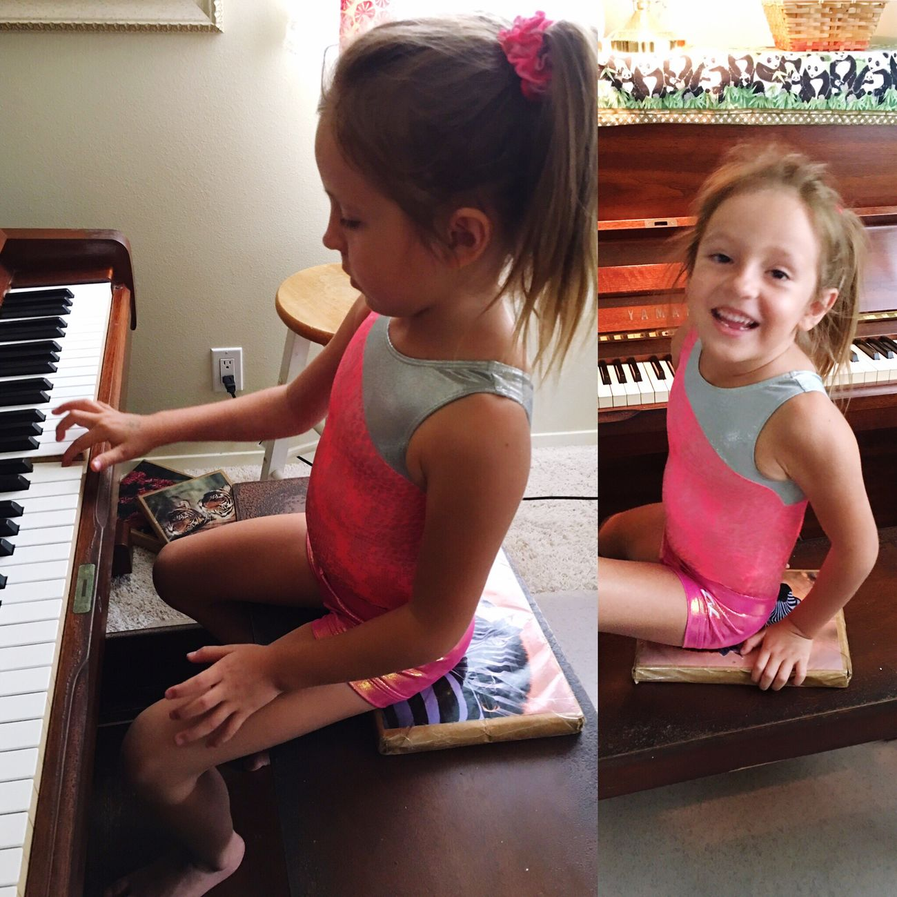 "The joy of music. ""I did it myself"" Piano Moments Learning Music Piano Piano Keys Musical Instrument Love Of Learning Girls Childhood Playing Nurturing Talent Playing Piano Making Music Student Classical Music Bigisland Hawaii"