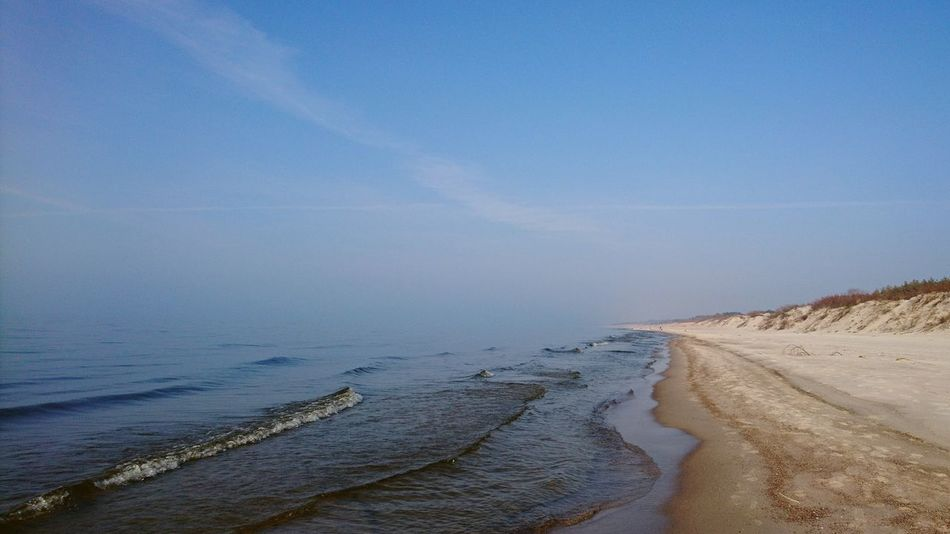 Sand Beach Landscape Outdoors Scenics Day Sand Dune Nature No People Sky Water Beauty In Nature Clear Sky Calm Sea Harmony Landscape Photography Sunny Afternoon