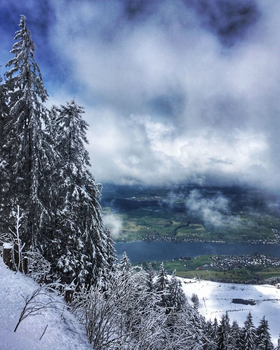 Mountain walk in Switzerland
