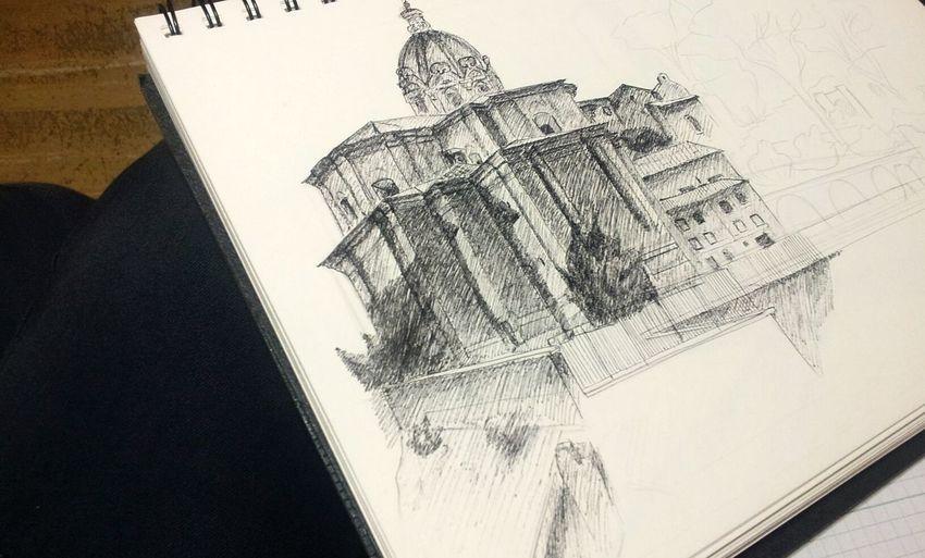Disegno Dal Vero Roma Fori Imperiali Questioni Di Prospettive Piccolesoddisfazioni
