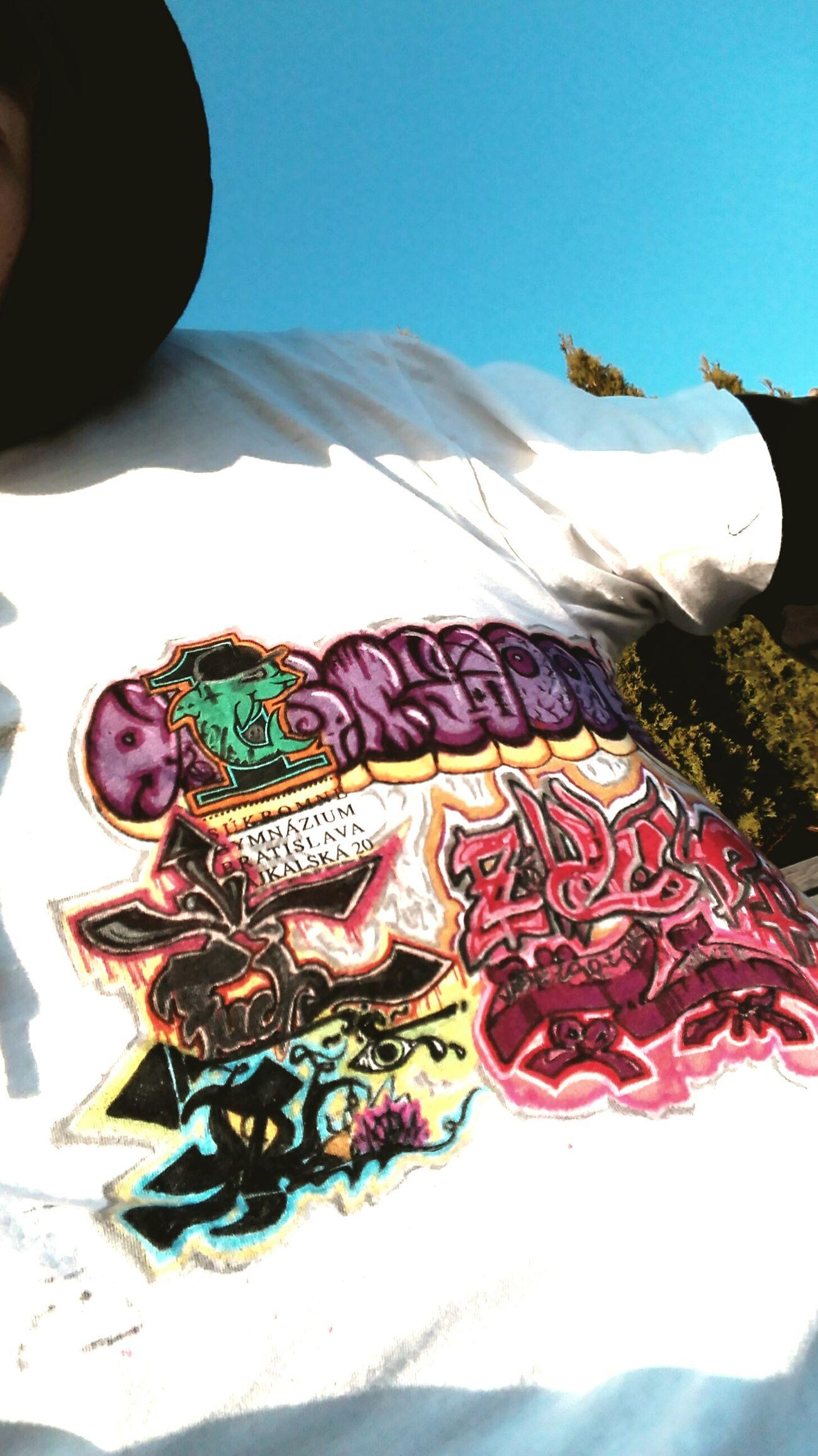 Tshirt Custom Graffiti