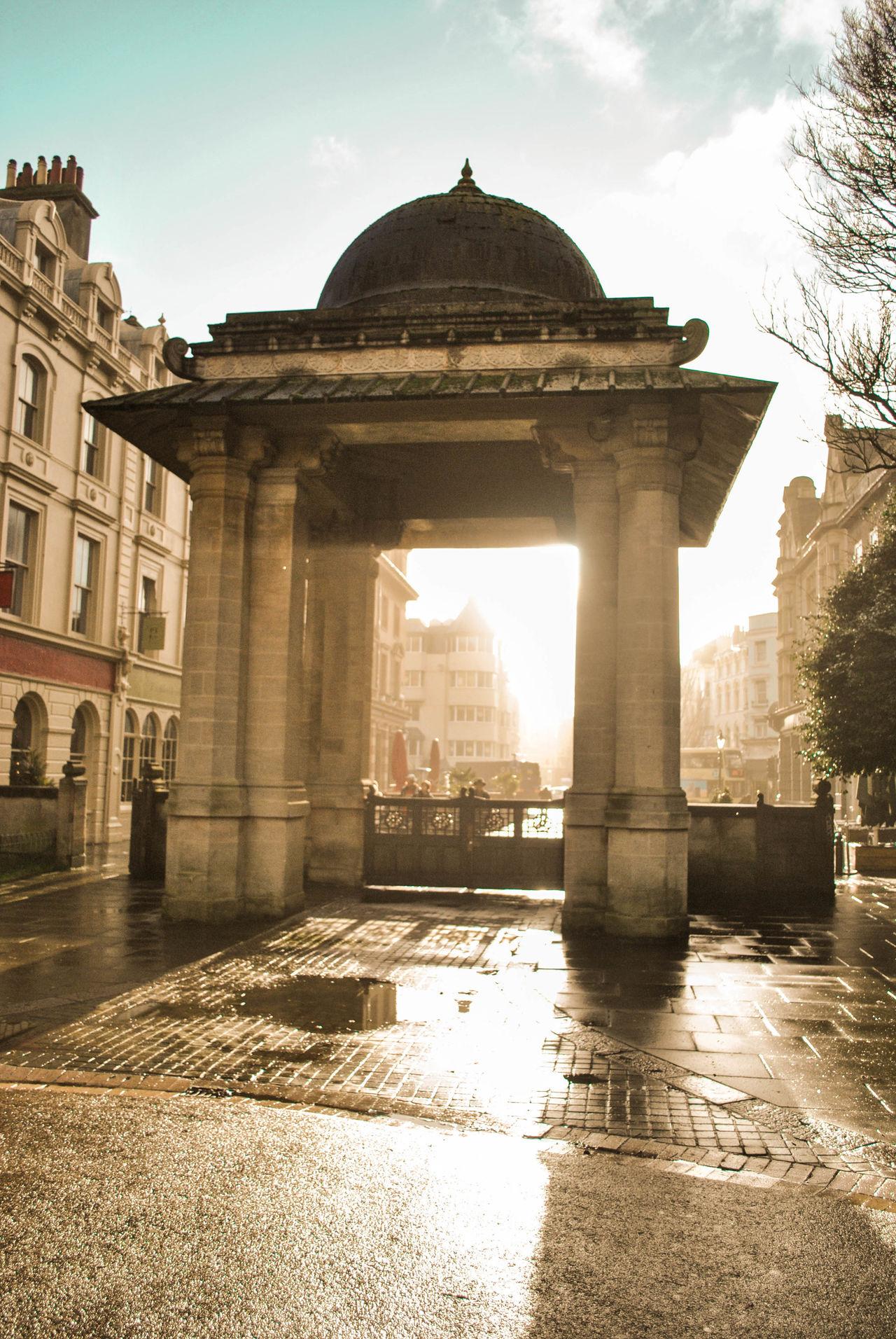 Brighton England Great Britain Großbritannien Uk United Kingdom Wet Day Nach Ein Regen Kommt Ein Sonnen Baba Tag 🙏🏼 Typical Day Typical England After The Rain Sunlight Sun Is Always Shining