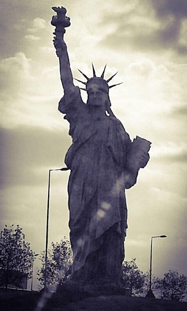 Sculpture Statue Monument Liberty Statue Of Liberty Colmar, Alsace, France Bartholdi