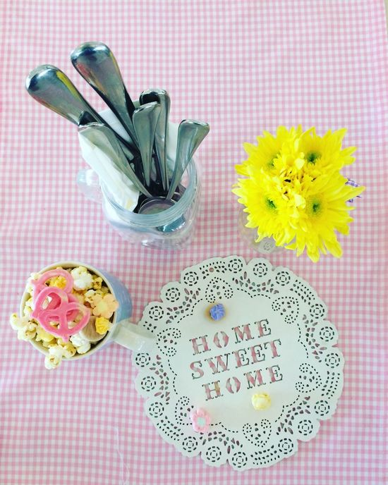 Blooming Dining Food Food Sharing Pink Color