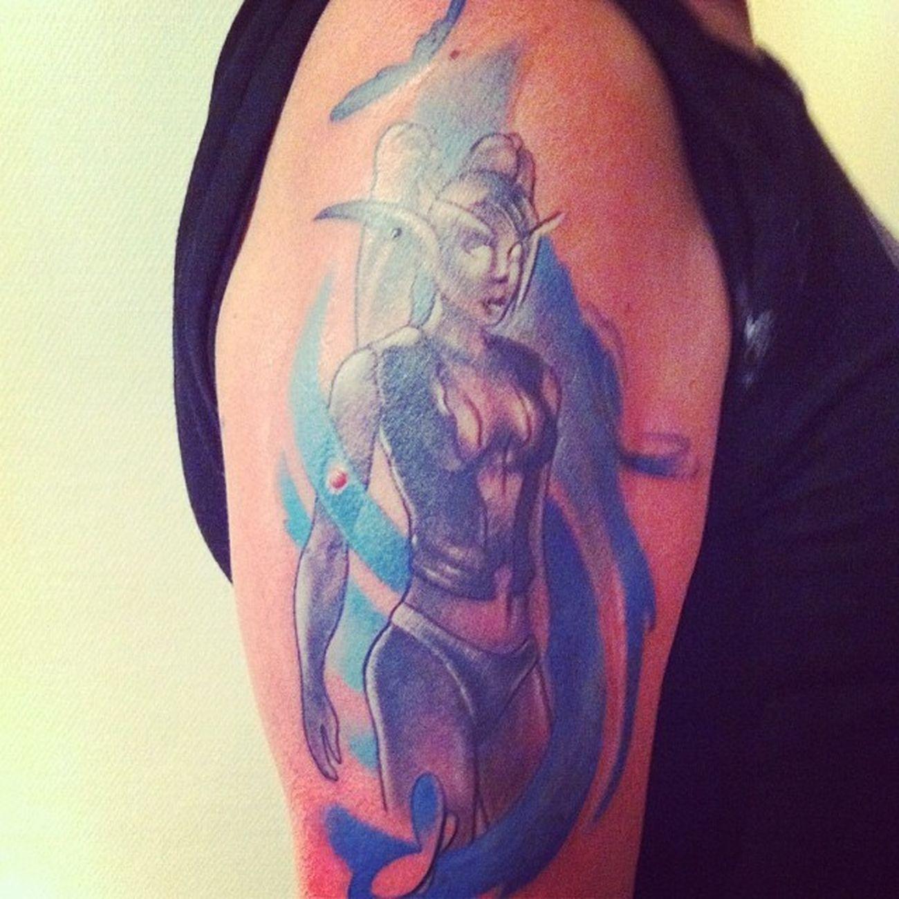 Nygjord Tatuering Lukaszawila Studioartcoretattoo