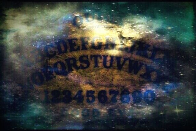 """""""The disintegration of spiritualism"""" (2014) Tricky Pic Divination Ouijaboard Trippyshit Trippy Photo Communicating With The Dead Metaphysical Oddities Ouija Ouija Board  Abstract"""