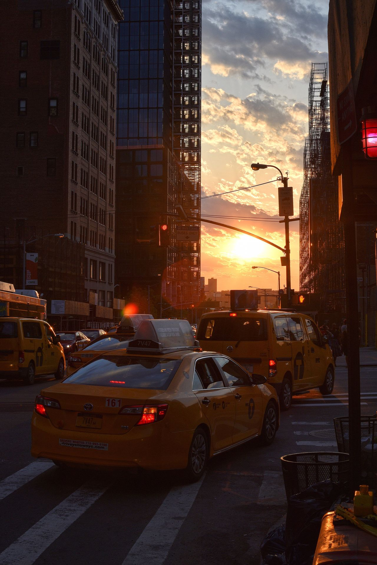Car Sunset Architecture Building Exterior City Built Structure Transportation Land Vehicle Sky Outdoors Skyscraper No People Cityscape Day Silhouette_collection Sunset Silhouettes NYC Photography Silhouette Silhouettes NYC Street Photography NYC Street Yellow Cabs NYC Mode Of Transport Transportation