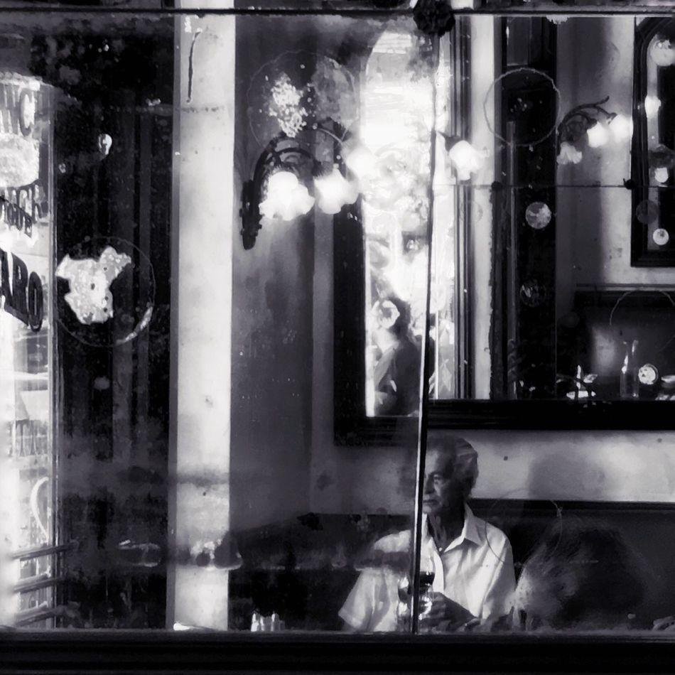 Melancholy Streetphotography Urban Lifestyle Streetphoto_bw Blackandwhite Wineglass Franchbistro Figarocoffee Losangeles Lifestyles Hollywood