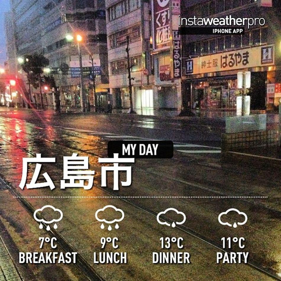 雨だ!\(^o^)/Weather Sky Instaweather Instaweatherpro Outdoors Nature 広島市 Hiroshimashi Japan Day Winter Rain Morning Skypainters Cold Hiroshimaprefecture