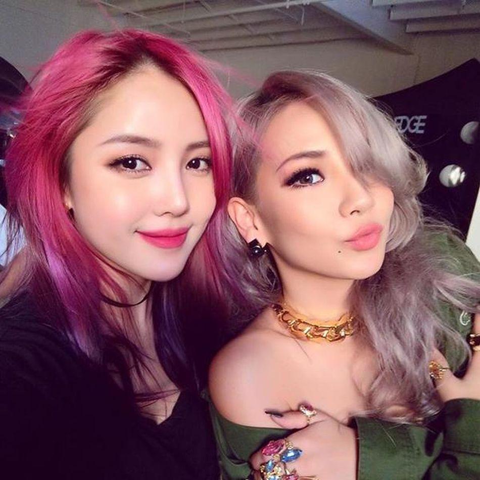 2NE1 CL 2ne1 Cl Lee Chaerin GZB Cl_queen Butterfly YGEntertainment Pony 🌸🌸