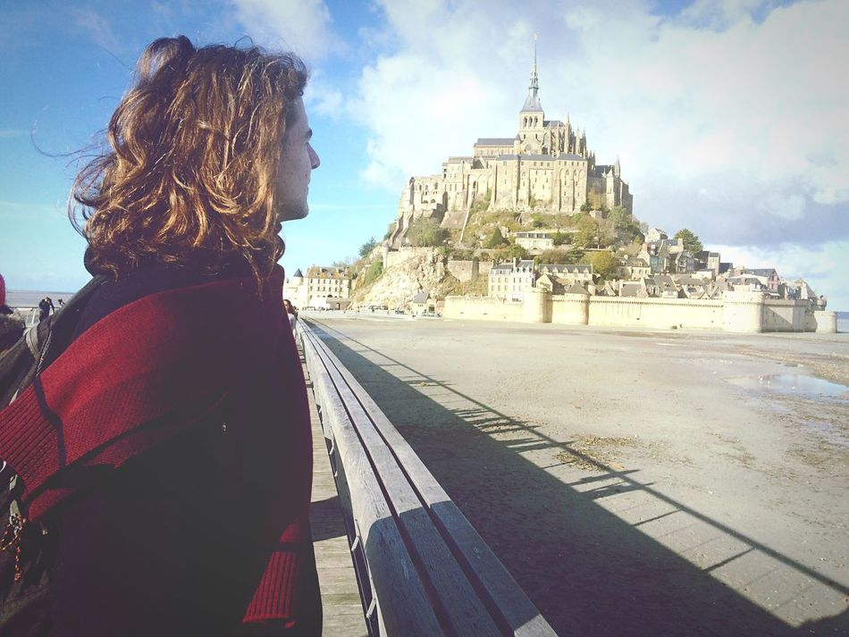My Year My View Mont Saint-Michel View Travel Destinations Travel France One Person Tourism Outdoors Vacations Architecture Long Goodbye