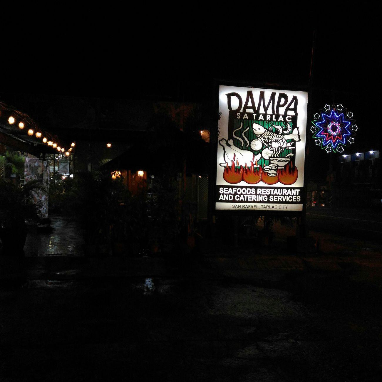 Illuminated No People Night Outdoors Dampa Tarlac, Philippines Philippines Restaurants Restaurant Entrance Restaurant Exterior Lights Night Photography Illuminations Seafoods SEAFOOD🐡