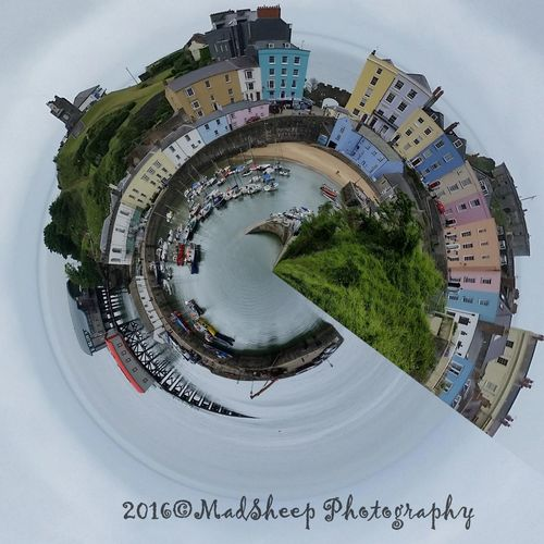 My Take On Tenby, Pembrokeshire Architecture Building Exterior Built Structure Castle Cityscape Day Harbour Lifeboat RNLI Lifeboat Station... Nature No People Outdoors Pembrokeshire Sky Tenby Harbour Tree Uk Uniqueness Wales Water