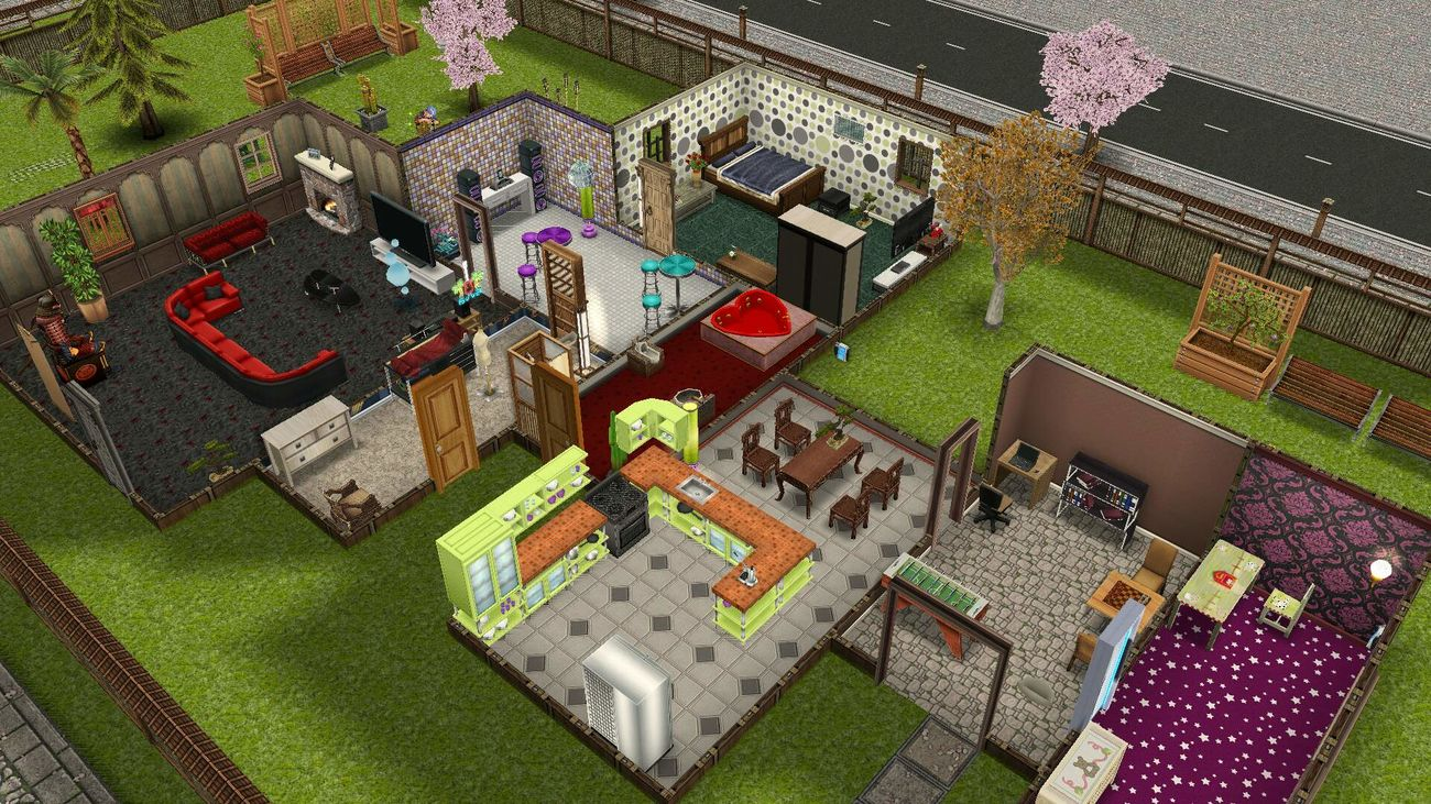 my House Sims Freeplay Thesims
