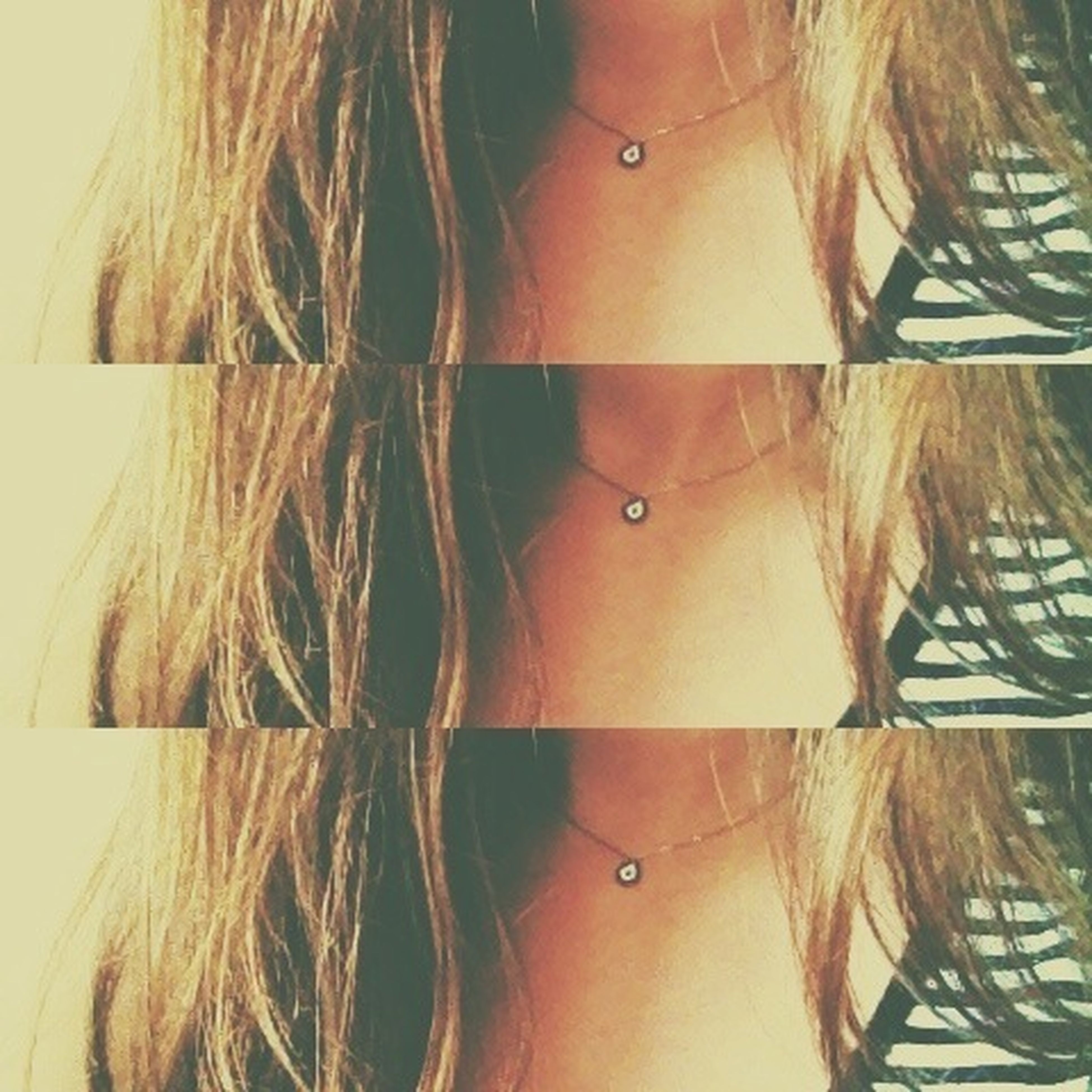 Necklace That's Me Long Hair, Don't Care. 😚