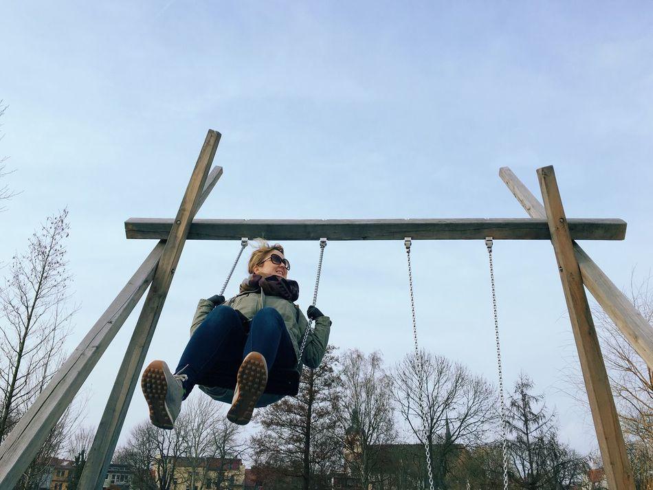 Beautiful stock photos of swinger, 30-34 Years, Brandenburg an der Havel, Chain, Day