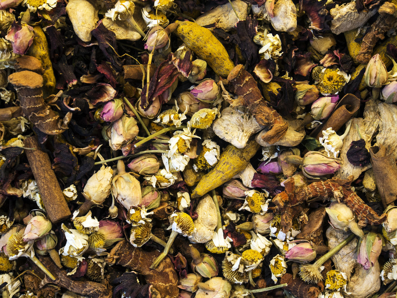 Herbal Tea in the Spice Bazaar Abundance Autumn Bazaar Beauty In Nature Change Day Dry Fragility Freshness Full Frame Herbal Leaf Leaves Multi Colored Natural Condition Nature No People Spice Tea Tranquility Yellow