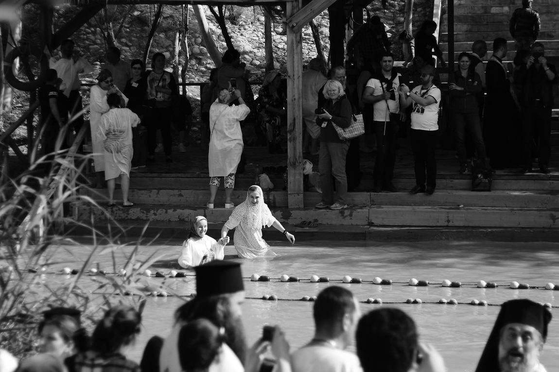 Epiphany Adult Audience Crowd Day Epiphany Large Group Of People Leisure Activity Lifestyles Men Mixed Age Range Outdoors People Real People Spectator The Photojournalist - 2017 EyeEm Awards Togetherness Women מייקאסר מייקנון מיישחורלבן