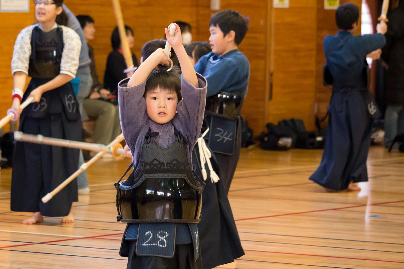 My Son Kendo Senior Examination Warming Up Japan EyeEm Best Shots EyeEm Asian Culture Japanese Culture Budo