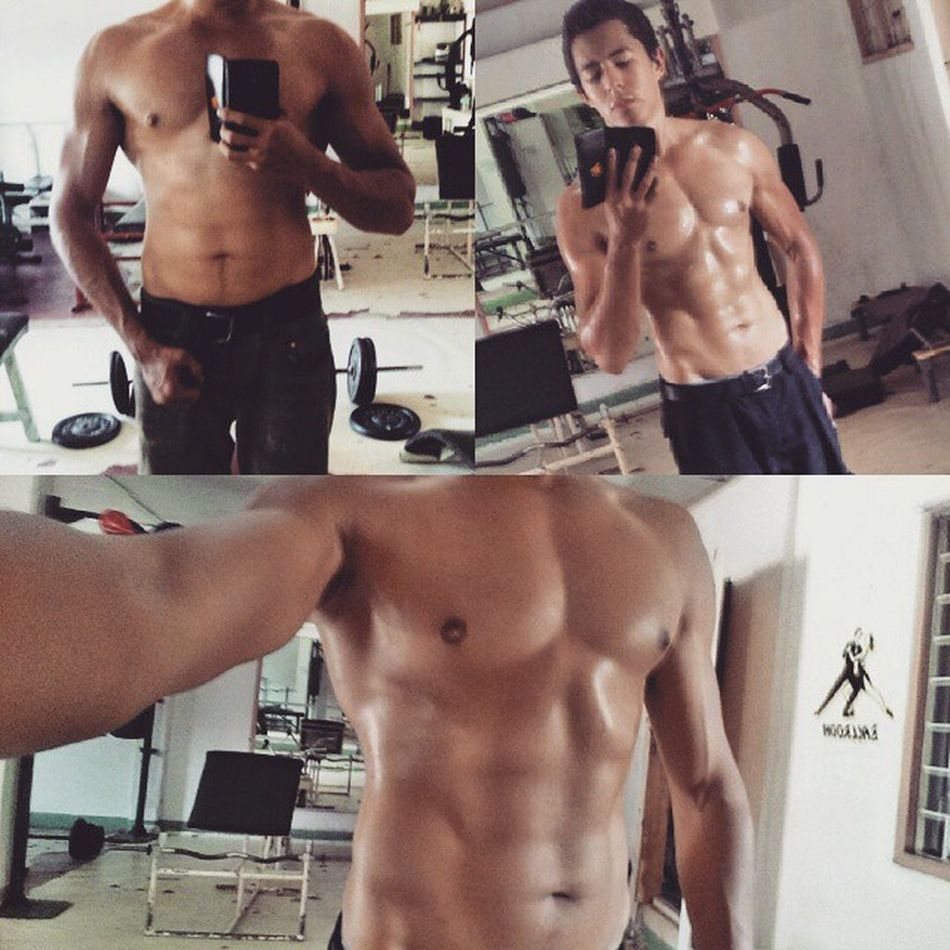 Feb 10(top left) vs yesterday(March 3), 22 days progress.. Also uploaded the original time stamped pics, just using my galaxy s4 here in the Philippines so resizing for instagram isn't worth the hassle. Nosupps Progress Dedication Abcircuits Natty Philippines Bohol Paradise GhettoGym Rainhailorshine Consistency 7daysaweek Gym Aesthetic Goals Motivation Gains Pinoy Natty Nobcaas Noproteinshakes