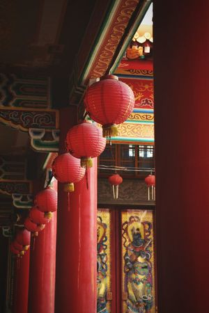 廟宇 廟宇 媽祖 古蹟 燈籠 Chinese Lantern Architecture Hanging Red Lantern Cultures Chinese New Year The Graphic City Love Yourself