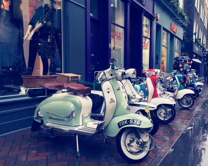 London Lambretta Moped