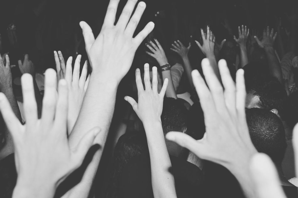 Beautiful stock photos of body, Arms Raised, Arts Culture And Entertainment, Clubbing, Concert