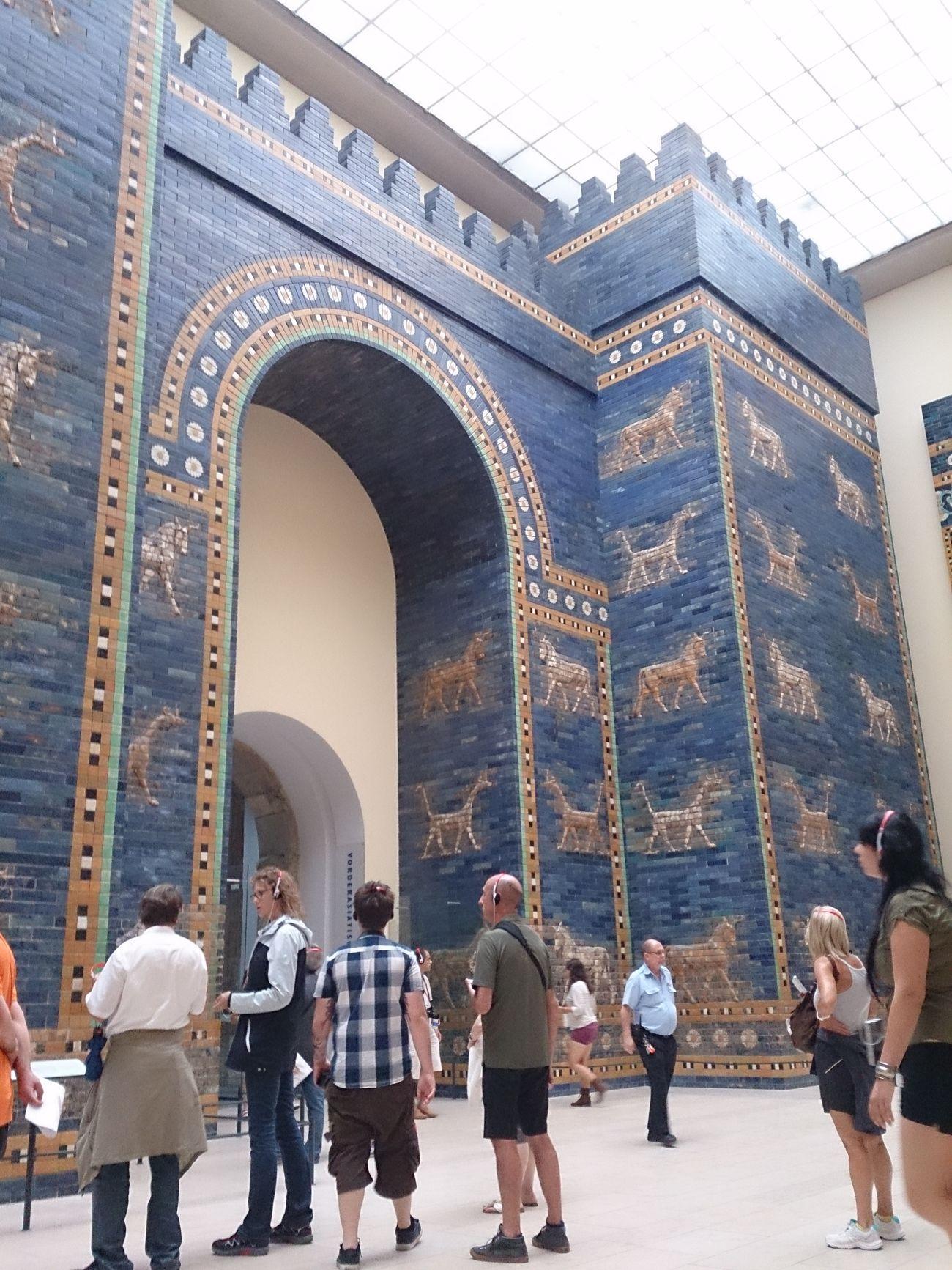 La Puerta De Babilonia que esta en el Museo De Pergamo en Berlin