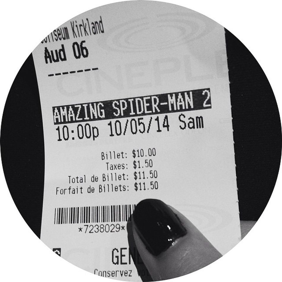 This better be good Amazingspiderman2