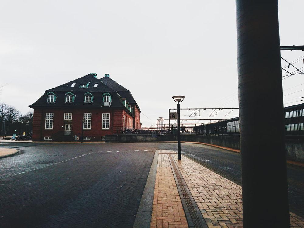 Denmark Odense Street Railway Station VSCO