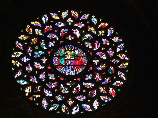 Round Stained Glass Window, Iglesia Santa Maria del Mar Barcelona Church Circle City Colorful Composition Design Full Frame Glass - Material Indoor Photography Low Angle View Multi Colored No People Ornate Design Place Of Worship Religion Rose Window Spaın Spirituality Stained Glass Stained Glass Window Tourist Attraction  Tourist Destination Vibrant Color Window