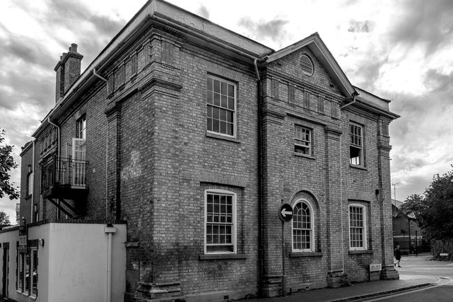 Former Town Hall, Newport Pagnell, Buckinghamshire Architecture Black And White Newport Pagnell Monochrome Buckinghamshire Town Hall