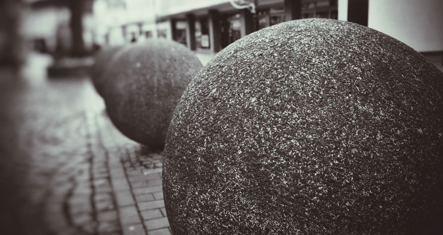 Stone Balls City View  Dülken Taking Photos Check This Out Eye4photography  Schwarz & Weiß Black And White Silouette Monochrome S&W B&w