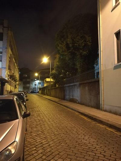 Rua Gil Vicente Architecture Night Illuminated No People City Built Structure Travel Destinations Building Exterior Outdoors Architecture City Porto Portugal 🇵🇹 Porto Purist No Filter Purist No Edit No Filter Portugal Vacations Street Light City Street Residential Building