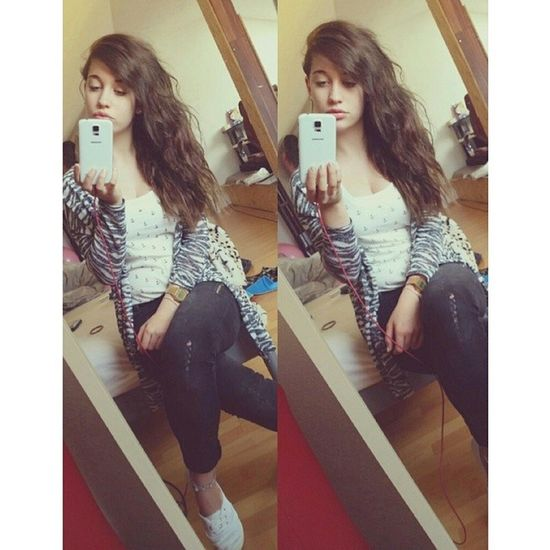 ✌ Girl Me Instagirl BrownHair longhair casio s5 french happy l4l ootd picoftheday instadaily