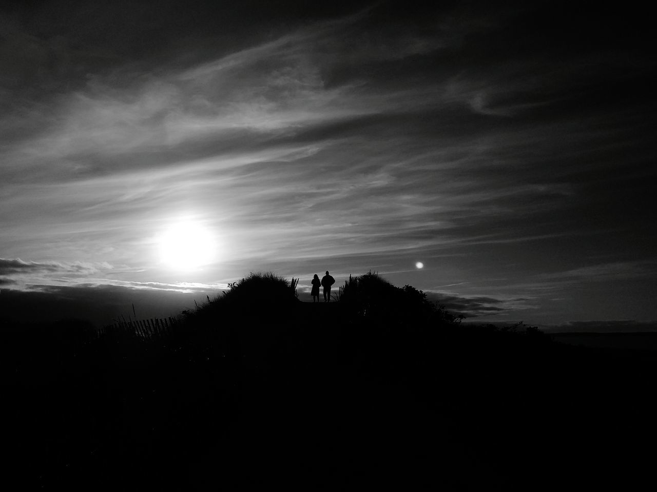 Monochrome Photography Silhouette Tranquil Scene Sun Tranquility Scenics Sunlight Cloud Sky Beauty In Nature Nature Mountain Majestic Dark Non-urban Scene Outdoors Physical Geography Atmosphere Remote Moody Sky Solitude EyeEm Masterclass Exceptional Photographs EyeEm Gallery EyeEm Best Shots