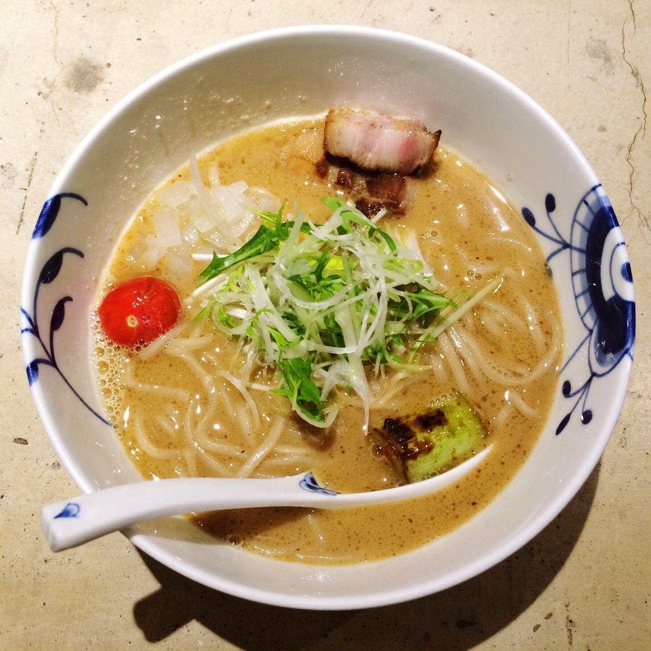 名前も看板もないラーメン屋に行ってきたよ。 ラーメン 京都 Kyoto 木屋町 日本 Japan Noodles