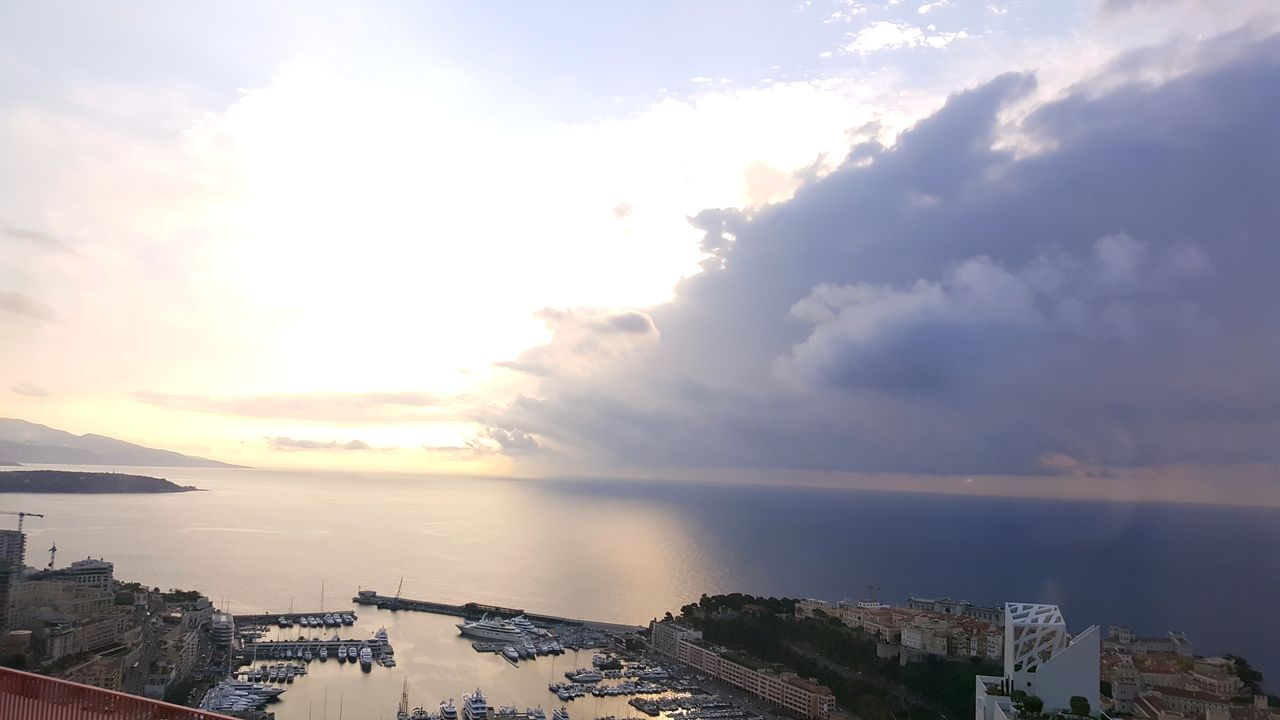 Monaco Canon 700D EyeEmNewHere Day Water Beauty In Nature Sunset Nature Millennial Pink