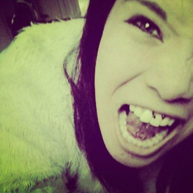 Mais um pra coleção Piercingboca Piercing Freiolingua Smile piercingsmile piercingfreiolingua amopiercing amo segue sigovolta ?????♥