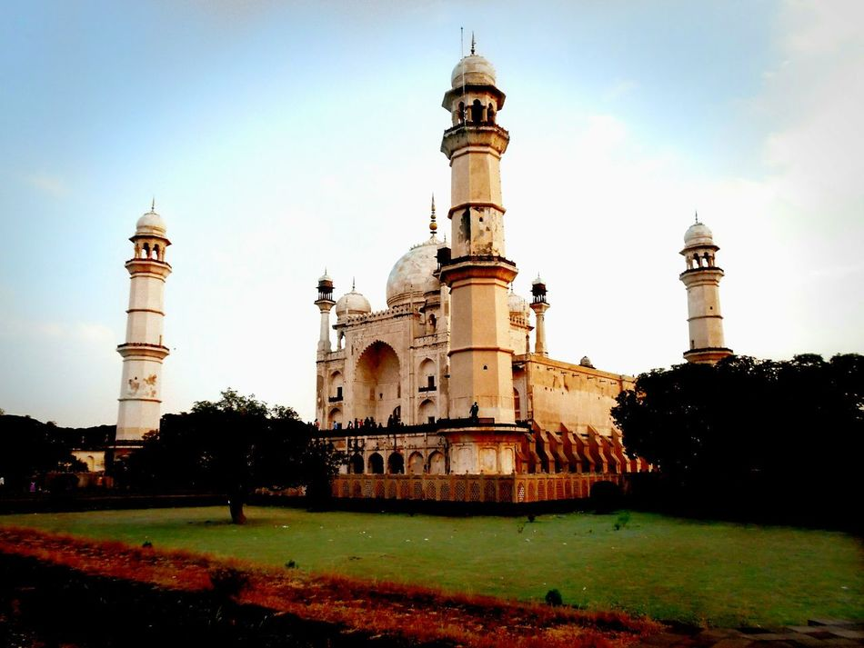 """Faded Beauty"" An attempt to rebuild the Taj... Bibikamaqbara Aurangabad Diary India Tourism Hdr_Collection Nikonphotography Partialfilter Tvr430"