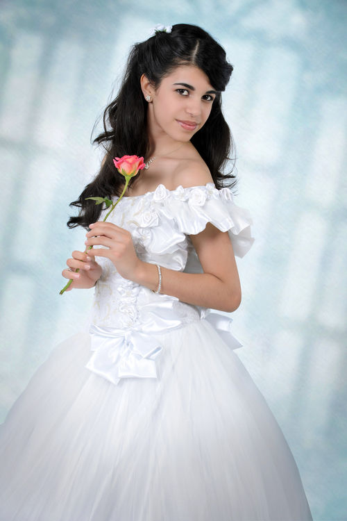 Traditional Quinces portraits of brunette girl arriving to 15 years old. The portraits are typical of Cuba and Latin American countries. Beautiful Beauty Brunette Celebration Cuban Event Fifteen Fotos Girl Latin America Looking At Camera Photos Photoshopped Pictures Portrait Portraits Pretty Quinces Studio Sweet Sixteen Teenager Traditional Typical Years Old Young