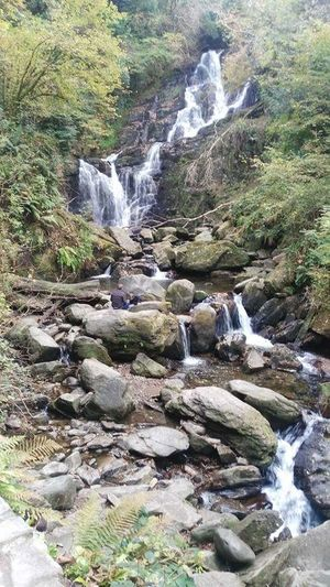 Killarney  Killarney National Park Kerry Ireland Waterfall Beauty In Nature Tranquility