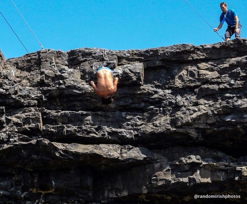 From Sunday's Redbullcliffdiving  in Ireland Galway Aranislands
