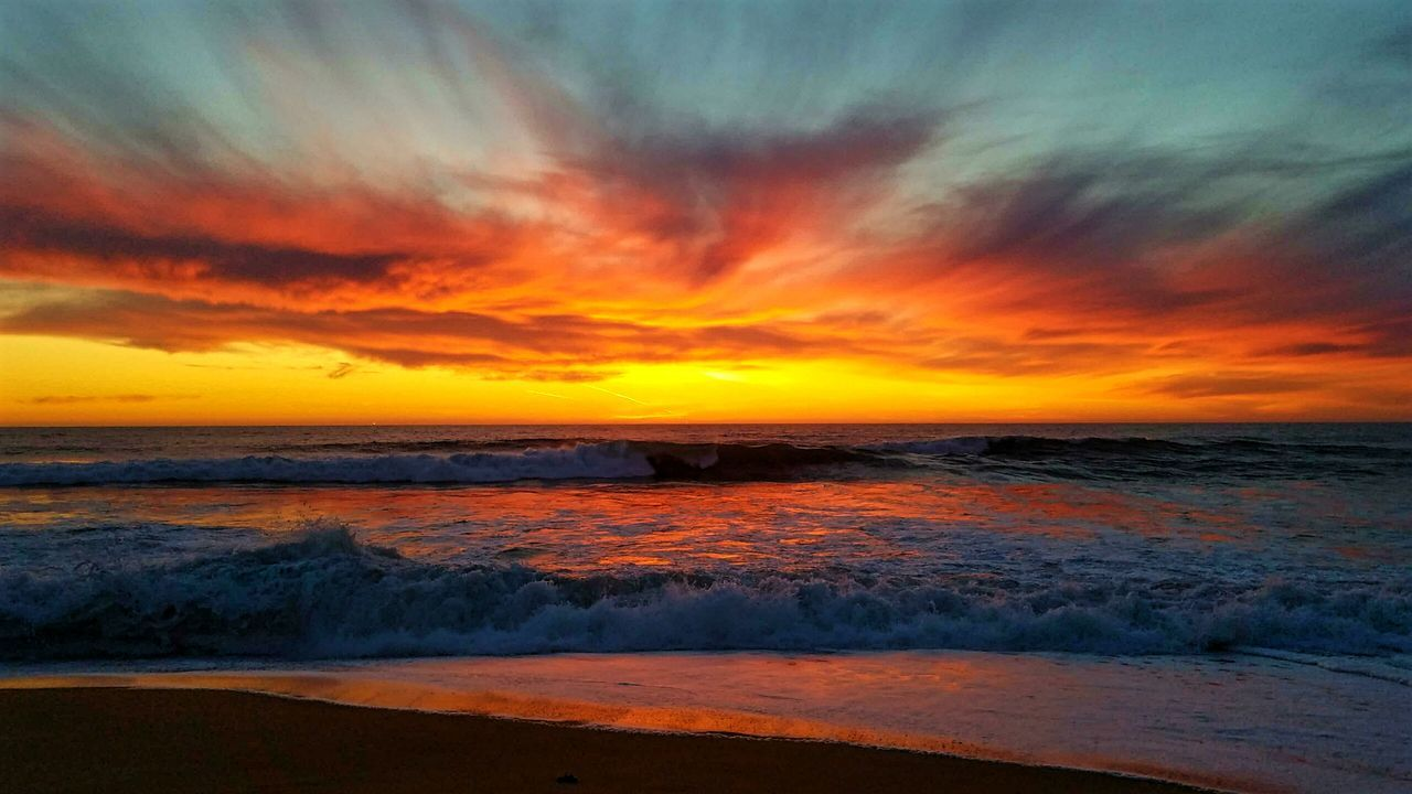 Sunset Nature Photography Beautiful Nature Beauty Ocean Beach Waves Myhappyplace My Perspective Livelaughlove♡ CA Life California California Coast Pacific Ocean