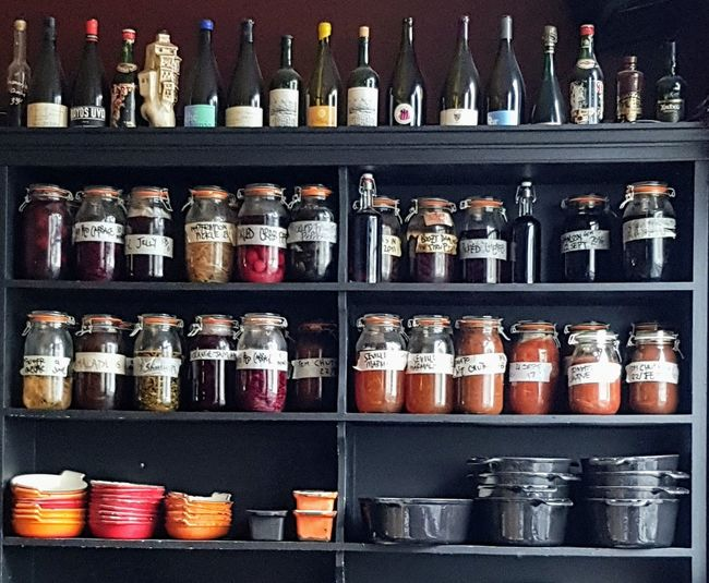 Variation Shelf Large Group Of Objects No People In A Row Indoors  Choice Can Day Food London Pub Pubs Around The Globe Canton Arms