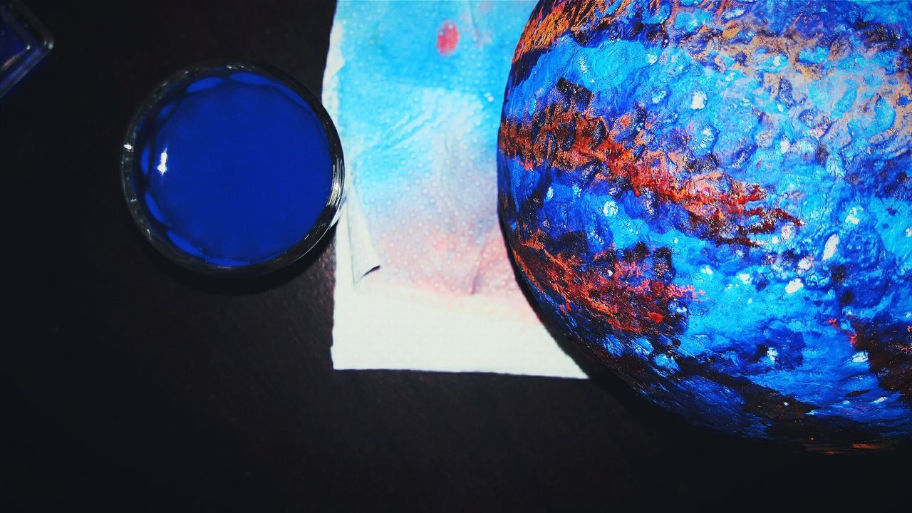 Another blue planet Check This Out Blue Planet Painted Photography