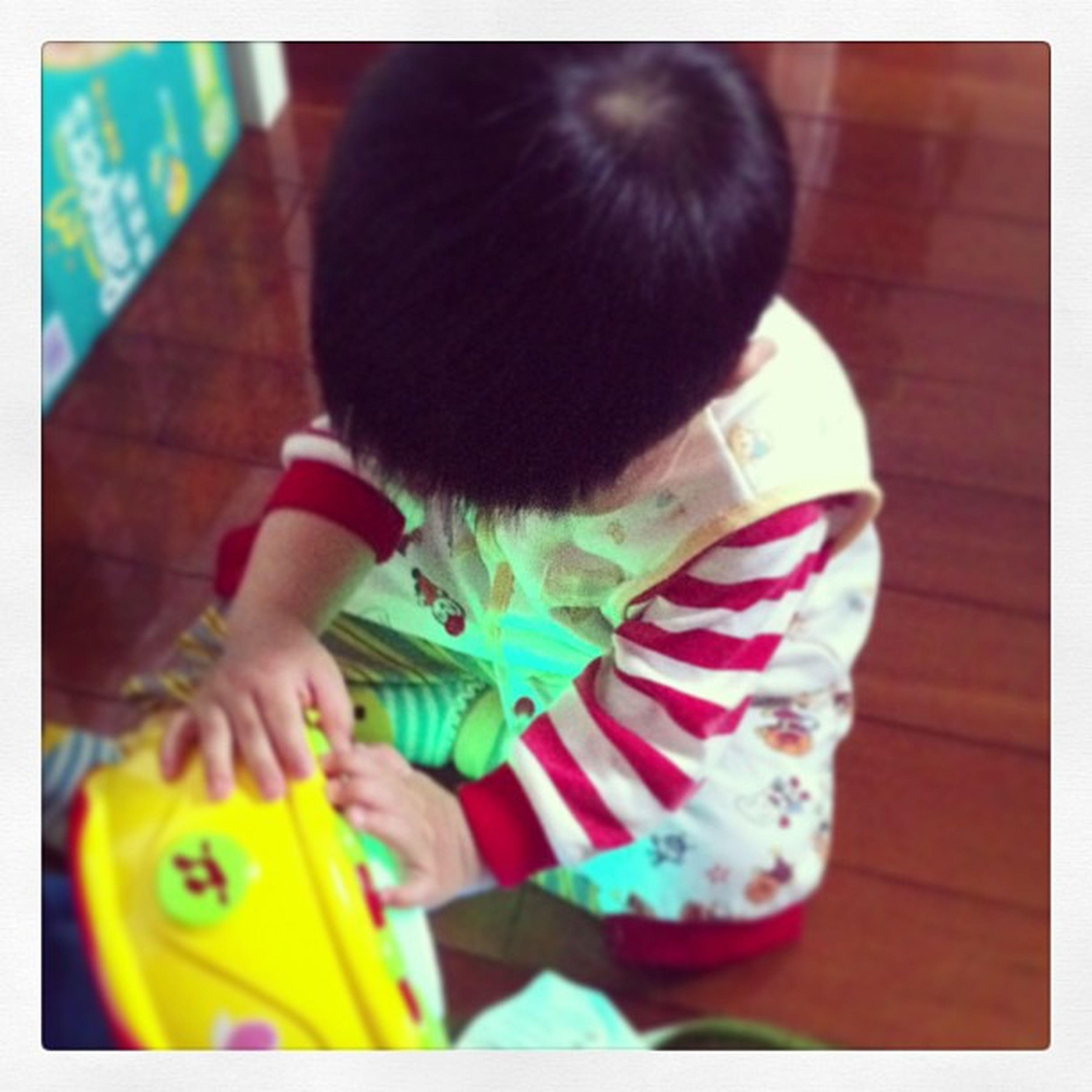2013~05~08 Baby Rain House Pempers love BB home familyday drum