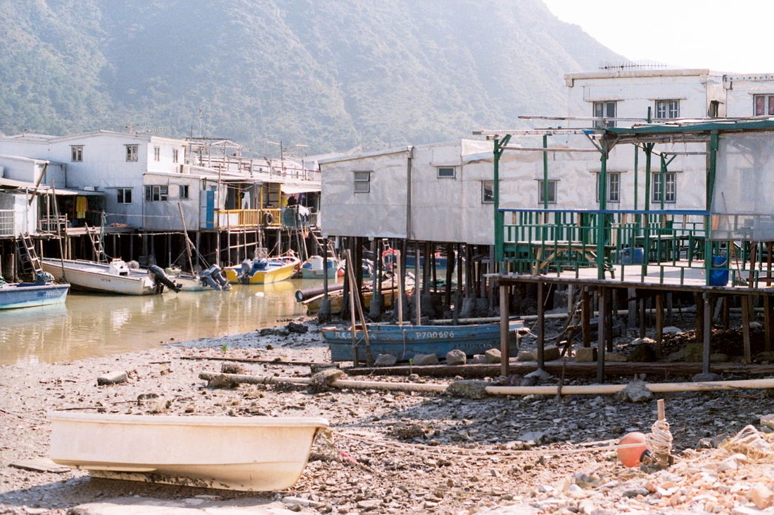 Showcase: January Village Contryside Fishing Boat TAIo Film Photography Filmcamera Traveling Architecture_collection