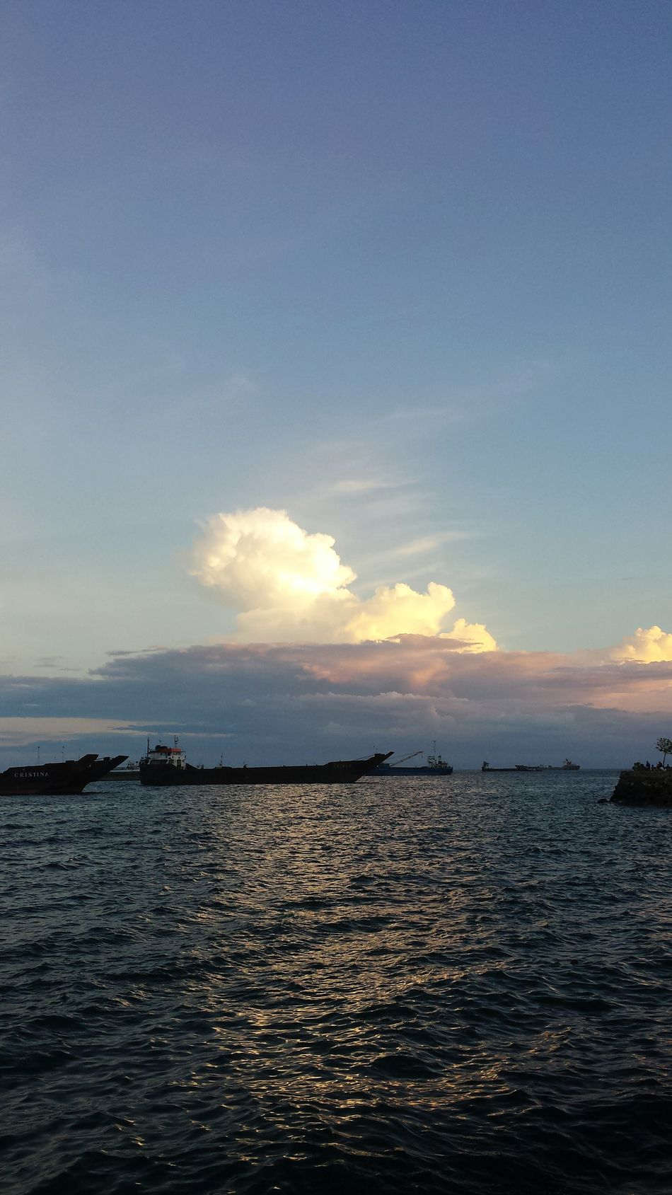 The Places I've Been Today Sunset Enjoying The View Relaxing Taking Photo Nature Beach Cebu Philippines Remie'sphotography