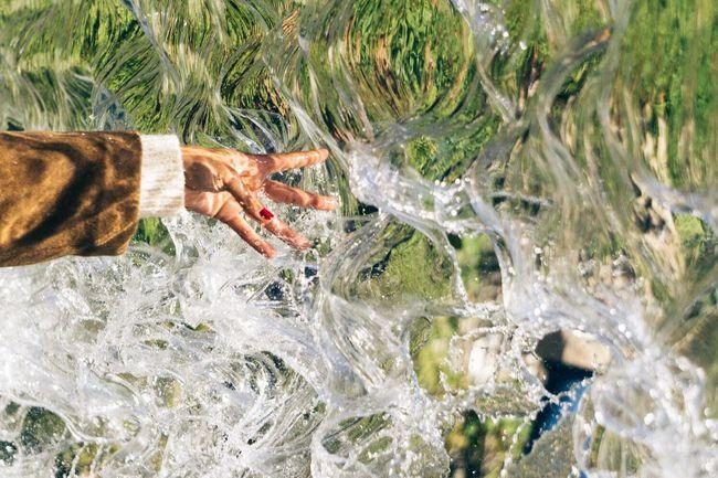 Chasing waterfalls. Waterfall Water